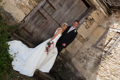 ευτυχής γάμος ζευγών Στοκ εικόνες με δικαίωμα ελεύθερης χρήσης
