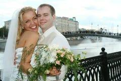 ευτυχής γάμος ζευγών στοκ εικόνες