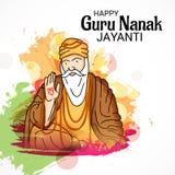 Ευτυχής γκουρού Nanak Jayanti Στοκ φωτογραφία με δικαίωμα ελεύθερης χρήσης