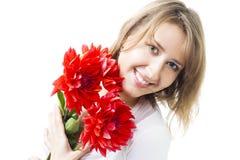 ευτυχής γυναίκα καρπου στοκ εικόνες