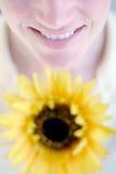 ευτυχής γυναίκα Στοκ εικόνα με δικαίωμα ελεύθερης χρήσης