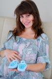 ευτυχής εγκυμοσύνη στοκ φωτογραφίες με δικαίωμα ελεύθερης χρήσης