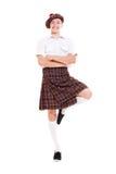 ευτυχής εθνικός σκωτσέζ στοκ φωτογραφία με δικαίωμα ελεύθερης χρήσης