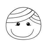 Ευτυχής εικόνα εικονιδίων κινούμενων σχεδίων αγοριών Στοκ εικόνες με δικαίωμα ελεύθερης χρήσης