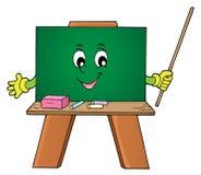 Ευτυχής εικόνα 1 θέματος schoolboard Στοκ φωτογραφία με δικαίωμα ελεύθερης χρήσης