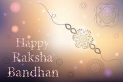 Ευτυχής εορτασμός Raksha Bandhan Στοκ Εικόνες