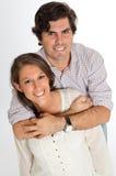 ευτυχής ζευγών παντρεμέν&om Στοκ Φωτογραφία