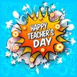 Ευτυχής ημέρα δασκάλων Στοκ εικόνες με δικαίωμα ελεύθερης χρήσης