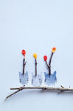 Ευτυχής ημέρα κουκουβαγιών Στοκ φωτογραφία με δικαίωμα ελεύθερης χρήσης