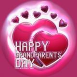 Ευτυχής ημέρα παππούδων και γιαγιάδων Στοκ εικόνα με δικαίωμα ελεύθερης χρήσης