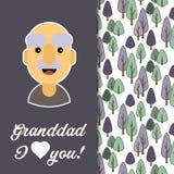Ευτυχής ημέρα παππούδων και γιαγιάδων Στοκ εικόνες με δικαίωμα ελεύθερης χρήσης