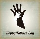 Ευτυχής ημέρα πατέρων Στοκ Φωτογραφίες