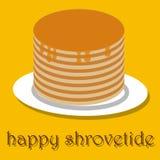 Ευτυχής ημέρα τηγανιτών τηγανιτών απεικόνιση αποθεμάτων