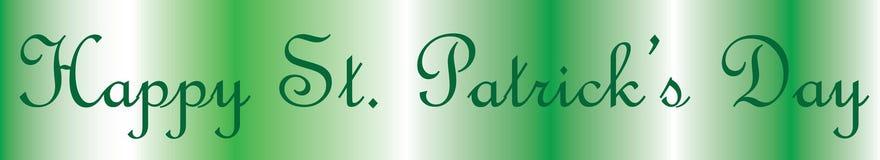 Ευτυχής ημέρα του ST Πάτρικ ` s! Στοκ Εικόνα