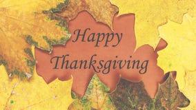 ευτυχής ημέρα των ευχαριστιών Ημέρα των ευχαριστιών Στοκ φωτογραφίες με δικαίωμα ελεύθερης χρήσης