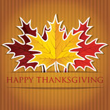 Ευτυχής ημέρα των ευχαριστιών! στοκ εικόνα με δικαίωμα ελεύθερης χρήσης
