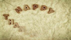 ευτυχής ημέρα των ευχαριστιών φιλμ μικρού μήκους