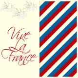 Ευτυχής ημέρα Bastille απεικόνιση αποθεμάτων
