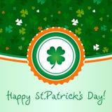 Ευτυχής ημέρα St.Patricks Στοκ φωτογραφία με δικαίωμα ελεύθερης χρήσης