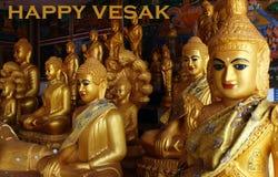 Ευτυχής ημέρα vesak Στοκ εικόνες με δικαίωμα ελεύθερης χρήσης