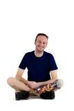 Ευτυχής θετικός αρσενικός ανάπηρος στοκ φωτογραφία με δικαίωμα ελεύθερης χρήσης