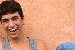 ευτυχής ισπανικός έφηβο&sigma Στοκ εικόνα με δικαίωμα ελεύθερης χρήσης