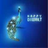 Ευτυχής κάρτα σχεδίου Diwali διανυσματική Στοκ εικόνες με δικαίωμα ελεύθερης χρήσης