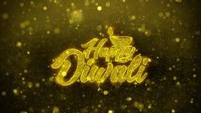 Ευτυχής κάρτα χαιρετισμών επιθυμιών diwali Shubh, πρόσκληση, πυροτέχνημα εορτασμού διανυσματική απεικόνιση