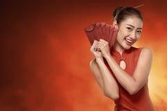 ευτυχής κινεζική νέα έννοια έτους Στοκ Φωτογραφίες