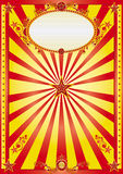 ευτυχής κόκκινος κίτριν&omic Στοκ Εικόνα