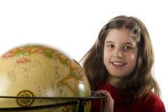 ευτυχής κόσμος μελέτης Στοκ Εικόνες