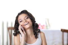 ευτυχής λευκή γυναίκα τ στοκ εικόνα με δικαίωμα ελεύθερης χρήσης