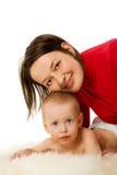ευτυχής μητέρα Στοκ φωτογραφία με δικαίωμα ελεύθερης χρήσης