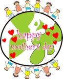 ευτυχής μητέρα s ημέρας Στοκ φωτογραφίες με δικαίωμα ελεύθερης χρήσης