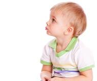 ευτυχής μικρός παιδιών Στοκ Εικόνα