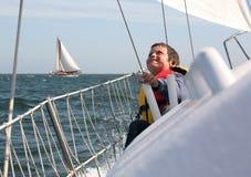 ευτυχής ναυτικός στοκ φωτογραφίες