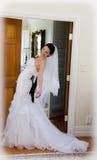 Ευτυχής νύφη Στοκ εικόνα με δικαίωμα ελεύθερης χρήσης