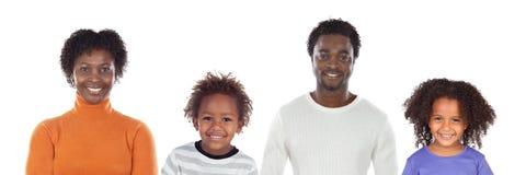 Ευτυχής οικογένεια που εξετάζει τη φωτογραφική μηχανή στοκ φωτογραφία με δικαίωμα ελεύθερης χρήσης
