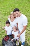 Ευτυχής οικογένεια Στοκ Φωτογραφίες