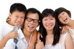 Ευτυχής οικογένεια Στοκ εικόνες με δικαίωμα ελεύθερης χρήσης