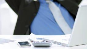 Ευτυχής στήριξη επιχειρηματιών φιλμ μικρού μήκους