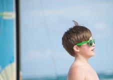 Ευτυχής στην παραλία στο Μεξικό Στοκ φωτογραφίες με δικαίωμα ελεύθερης χρήσης