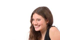 ευτυχής χαμογελώντας έφ&e Στοκ φωτογραφία με δικαίωμα ελεύθερης χρήσης
