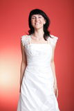 Ευτυχής χαμογελώντας νύφη Στοκ Εικόνα