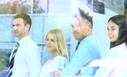 Ευτυχής χαμογελώντας επιχειρησιακή ομάδα Στοκ Εικόνες