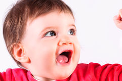 ευτυχής χαρούμενος παιδιών Στοκ Φωτογραφία
