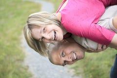 ευτυχής χαλάρωση πάρκων ζ&e στοκ φωτογραφία με δικαίωμα ελεύθερης χρήσης