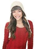 ευτυχής χειμώνας καπέλων Στοκ εικόνες με δικαίωμα ελεύθερης χρήσης