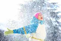 Ευτυχής χειμώνας Στοκ φωτογραφία με δικαίωμα ελεύθερης χρήσης
