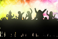 Ευτυχής χορός παιδιών Στοκ εικόνες με δικαίωμα ελεύθερης χρήσης